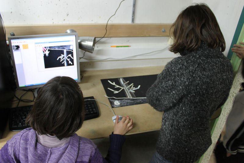 Stage de cinéma d'animation pour les enfants à la MJC des Rancy – Première semaine des vacances de février